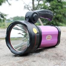 Flashlight Torch Searchlight flood light outdoor sport fishing camping hunting USB power bank bright XM-L T6 LED 30W spotlight