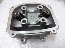 Scooter 150cc GY6 ATV Cylinder Head With Valves, Chinese Scooter Parts GY6 150cc 57.4mm 157QMJ