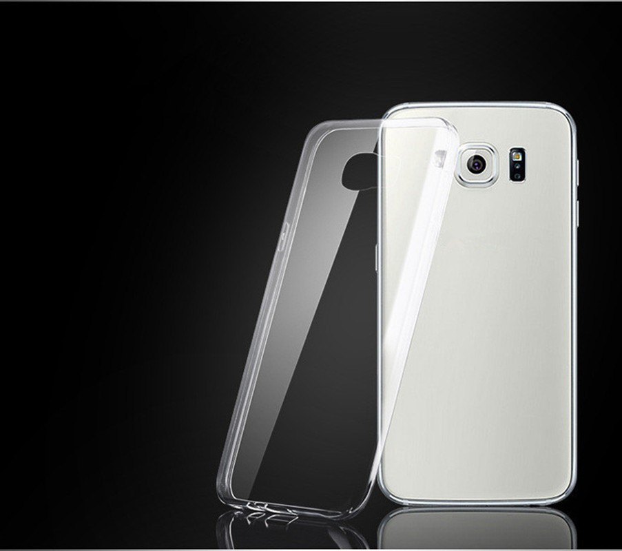 HIgh Quality Ultra Thin Clear Silicon TPU Soft Phone Case For Samsung S3 S4 S5 mini S6 S7 Edge Note 2 3 4 5