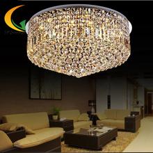 Living room suction top crystal lamp round LED energy-saving modern minimalist luxury bedroom lamp restaurant ligth(China (Mainland))