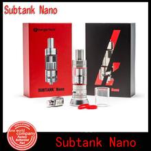 100% original kanger subtank nano atomizer with occ coil 3.0ml kangertech sub tank nano clearomizer Free Ship(1pc YY)