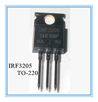 Free Shipping 30pcs/lot IRF3205 IRF3205PBF IR TO-220 100% NEW 55V 110A 200W