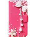 DIY Cute Luxury Crystal Diamond Flip Leather Case Cover For Asus Zenfone 2 5 5 ZE551ML