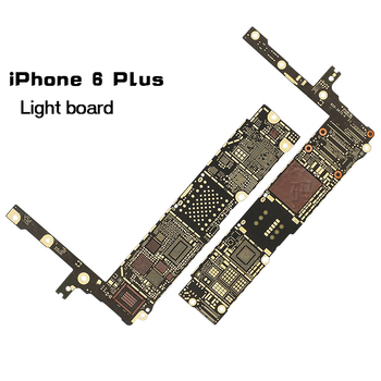 100% New Motherboard Main Logic Bare Board For IPhone 6 PLUS Replacement Part Naked nude Board for Apple iphone 6 plus