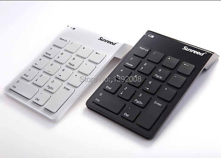 Sunreed Ultra Slim 2.4g Wireless Digital Keyboard Numeric Keypad(China (Mainland))