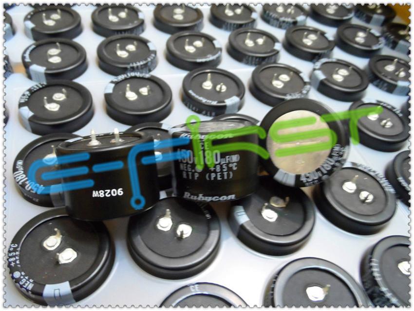20pcs 450V180UF 450V RTP 35X25mm 85 Degrees Rubycon SNAP IN Electrolytic Capacitor(China (Mainland))