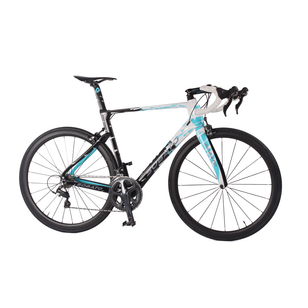 New Arrival Road Bike Full Carbon Fiber Complete Bike Carbon Fibre Bike With Piant Surface(China (Mainland))