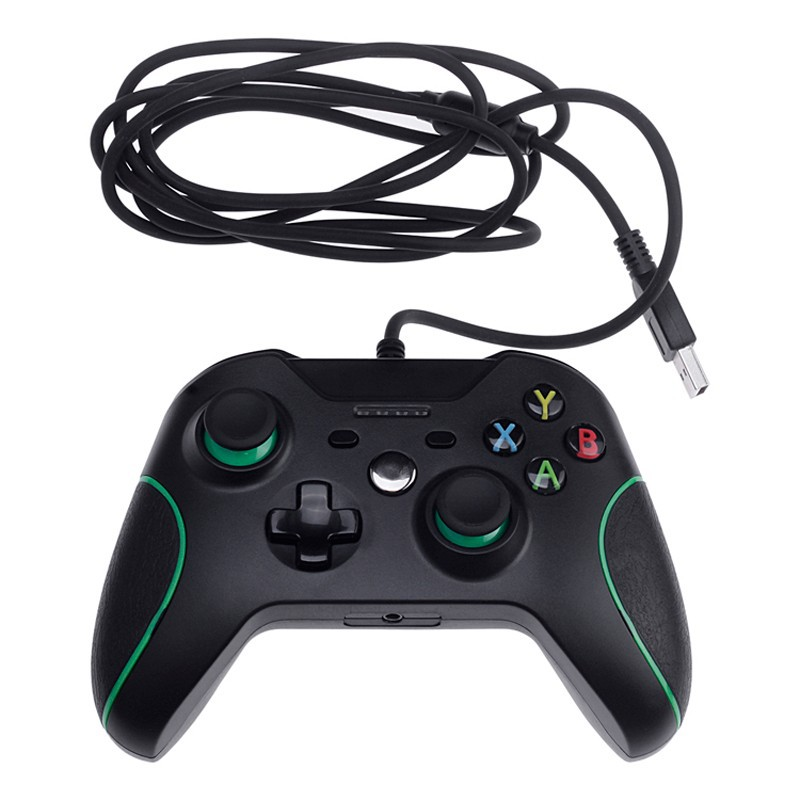 USB Wired Controller Controle For Windows PC Microsoft Xbox One Controller Xone Gamepad Joystick + Cable for Windows Mando