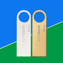 Stainless steel Concise customerized logo USB flash disk 4G, 8G, 16G, 32G
