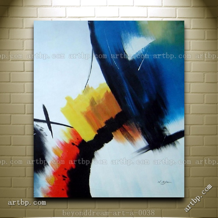 Majestic Ii Oil Painting Abstract Modern Nonobjective Art Canvas Painting Large Wall Pictures Free Shipping Hand-Painted(China (Mainland))