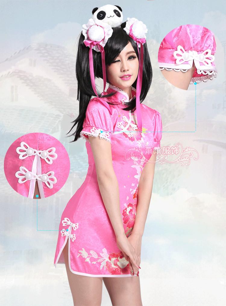 Love Live Unawakening Qipao Yazawa Nico Cosplay Costume Halloween Party Uniform Dress S-XLОдежда и ак�е��уары<br><br><br>Aliexpress