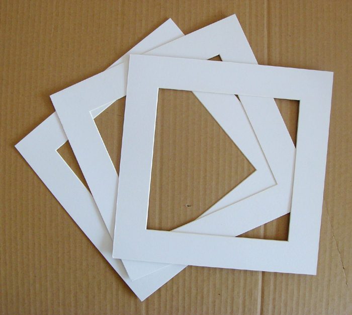 Square picture frame cardboard picture wall cardboard 7 8 10 12 16 20(China (Mainland))