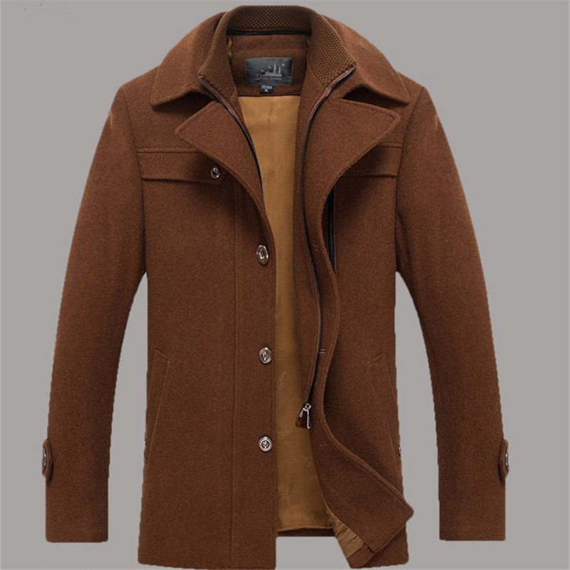 Wool Coat Brown