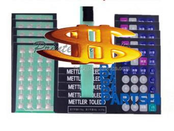 product for ( Versi bahasa inggris ) Film Keyboard ( Key memperkuat edisi ) berlaku untuk Toledo 3600 3650 3680 skala Skala ritel