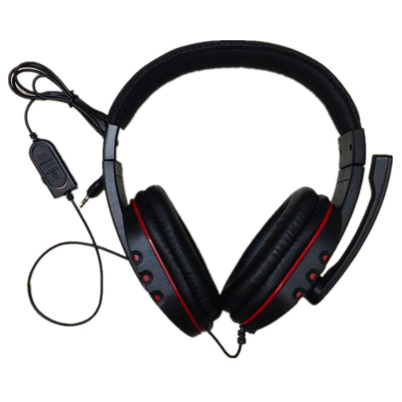 Big Wired PS4 font b gaming b font Headset earphones with Microphone font b Headphone b