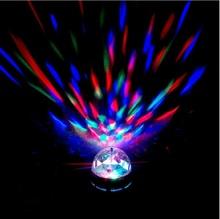 Buy New 5pcs/lot Mini 3W RGB LED Lamp Bulb Stage Lighting 220V Magic Ball Auto Rotating DJ Disco Holiday Bulb Bar KTV Lighting for $29.10 in AliExpress store