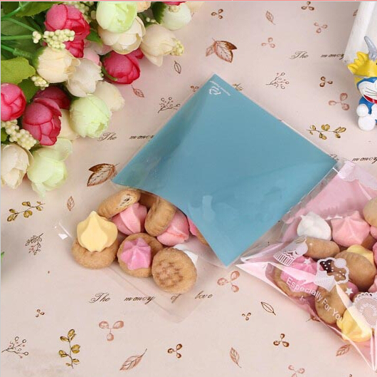 DIY cake pastry biscuit bags 2colors 10pcs/bag snack packaging bags for gift wrapping(China (Mainland))