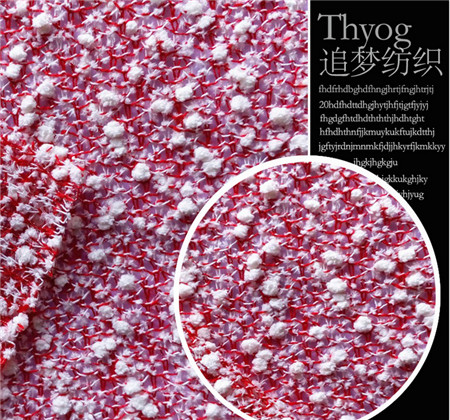 ML2016011 Polyester knitted fabric fashion knitted fabric manufacturers selling wholesale clothing knitted fabric(China (Mainland))