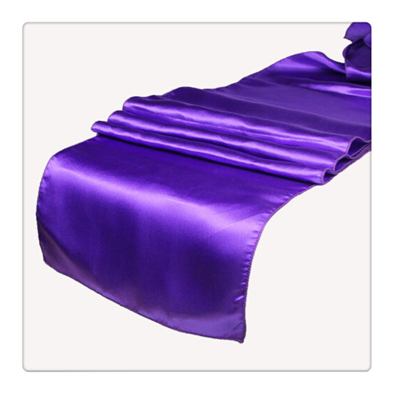 36 piece purple table runners For Wedding FREE SHIPPING purple table runner(China (Mainland))
