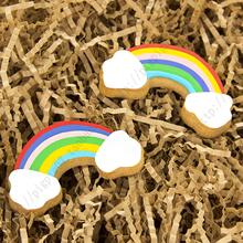 Rainbow Metal baking CookieCutters ,Hot Sale,Fondant cookie Moulds,kitchen accessorie, fun popular tools.DIY