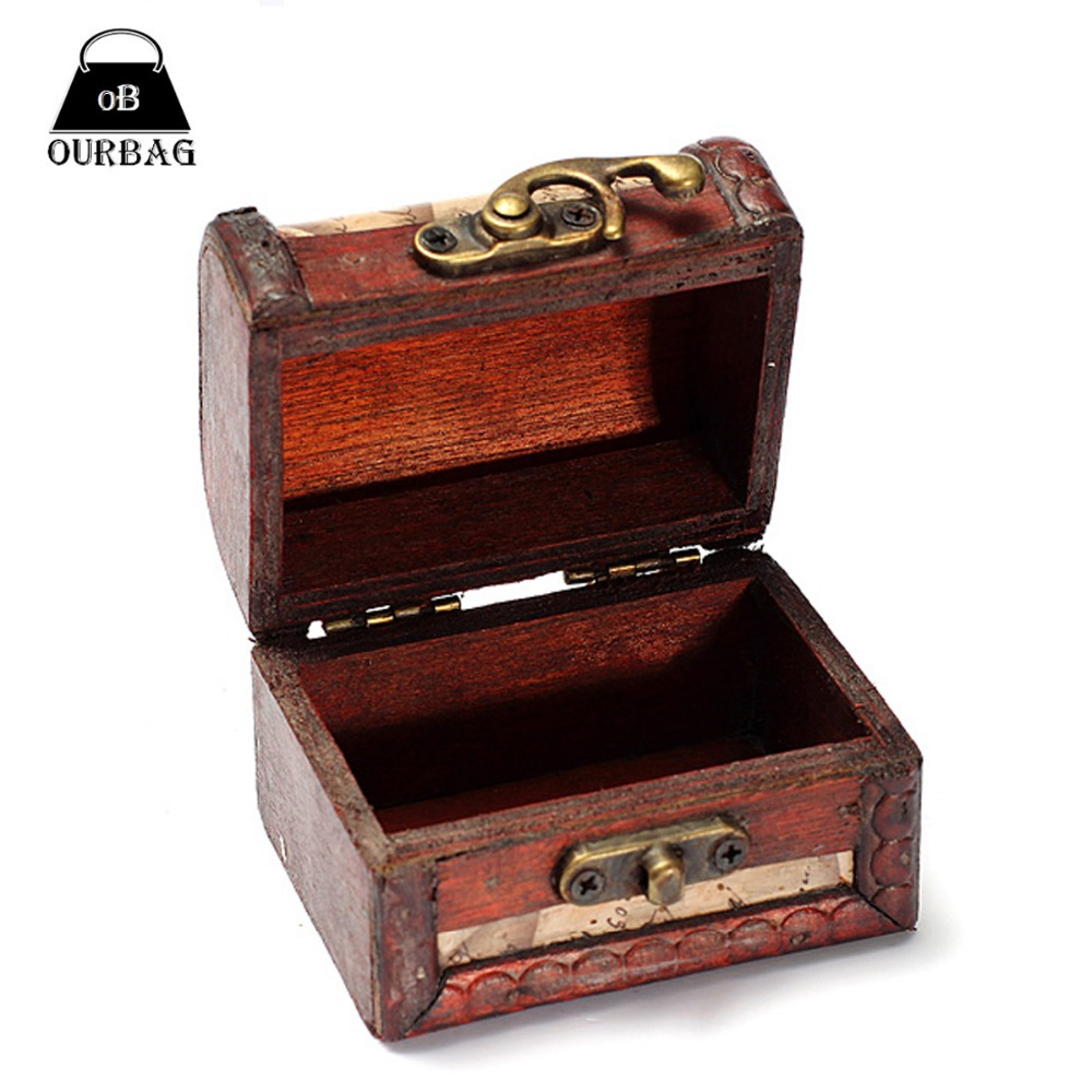 Wooden Antique Storage Boxes