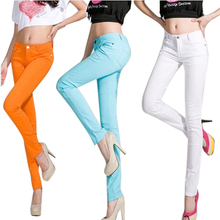 2015 New Arrival Woman's Pants,Fashion Regular Elastic Colorful Pencil Pants For Woman,Spring &Autumn,Drop Shipping ,WKP137(China (Mainland))