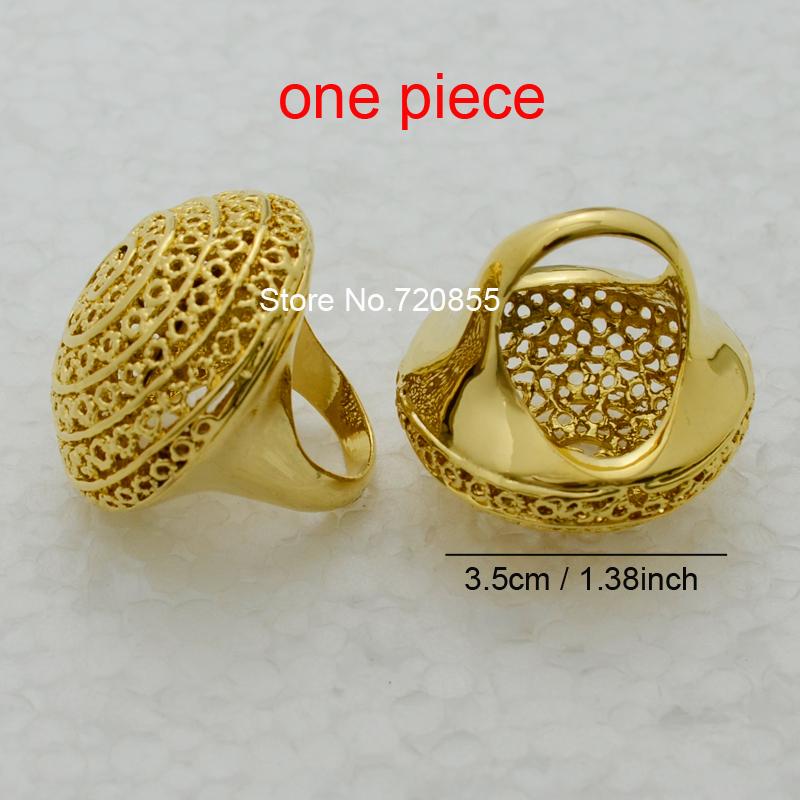 Big Ethiopian Ring Women 22k Gold plated Eretrian Rings Girl Jewelry African Gift,Ethiopia Style Jewellry Fashion Arabic Items(China (Mainland))