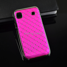1pcs Luxury Bling Bling Star Diamond Plastic Hard Case Back Cover For Samsung Galaxy S S1 I9000 i9001 9000 galaxy s plus Case(China (Mainland))