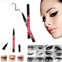 Cosmetic Waterproof Black Eyeliner Liquid Make Up Beauty Comestics Eye Liner Pencil Gift Beauty Essentials Maquillaje Free Ship(China (Mainland))