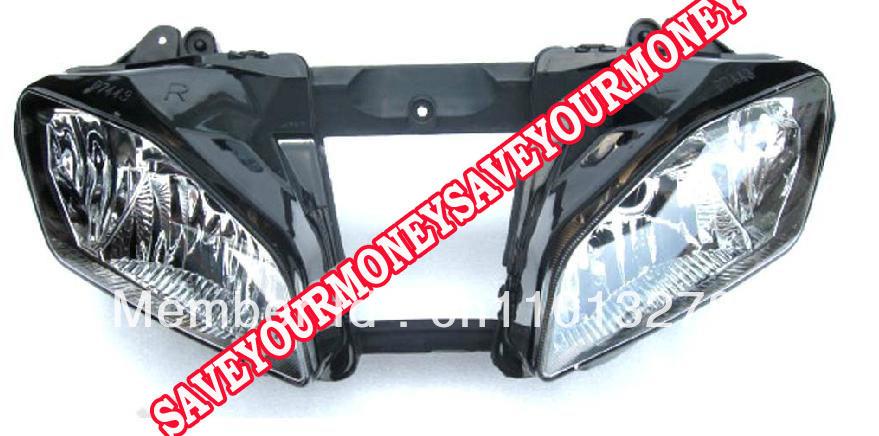 Motorcycle Headlight Assembly : Motorcycle headlight head light assembly house