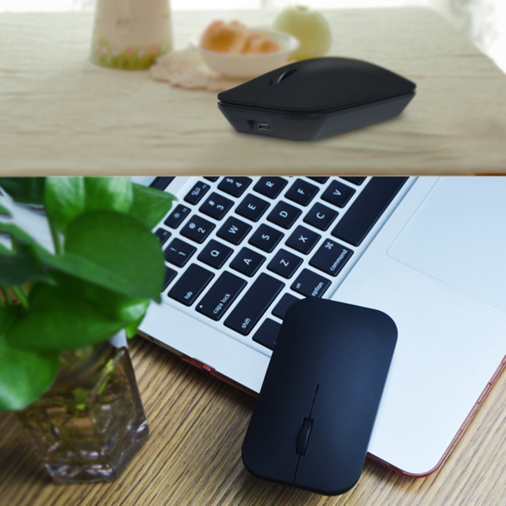 Ultra Thin Bluetooth 30 Wireless Rechargable Mouse Vmw 181 For I8 Keyboard Mini Wearless Pnp Windows 1 X Actual Picture Show Aeproduct