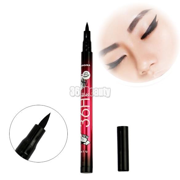 Maquiagem De Marque venda direta De longa duração 2015 Waterproof Eye Liner cosméticos delineador líquido 2.5 g