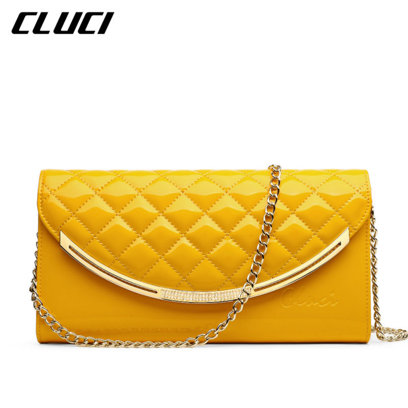 CLUCI Womens Pillow Day Clutches Cover Genuine Leather Small Plaid Women Designer Bags Luxury Ladies Clutch Evening Bag Rushed<br><br>Aliexpress