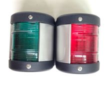 One Pair Marine boat yacht light Green And Red Starboard Port Navigation Light LED Side Lamp(China (Mainland))