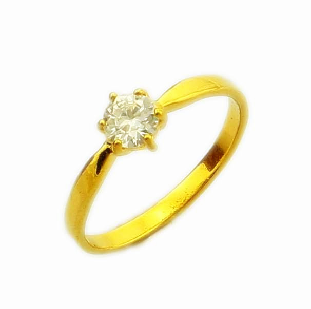 wholesale fashion 24k gold plated ring jewelry real