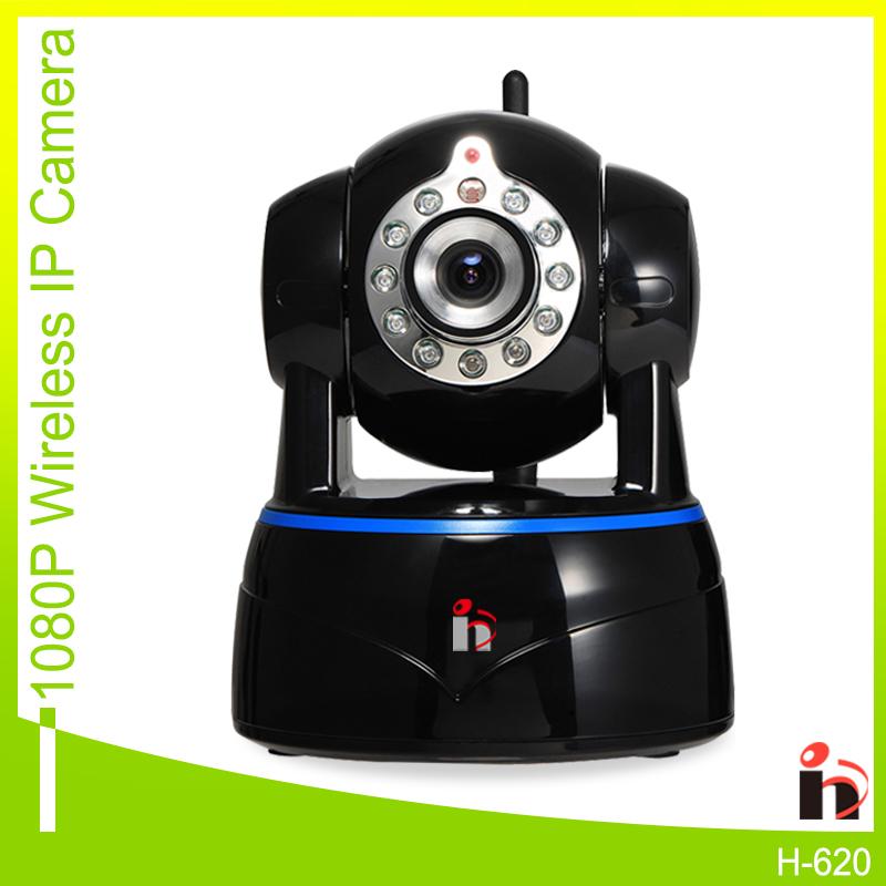 H HD 1080P 2.0MP Wifi IP Camera P2P Wireless PTZ Security Camera 2-Way Audio Surveillance Camera ONVIF IR Cut(China (Mainland))