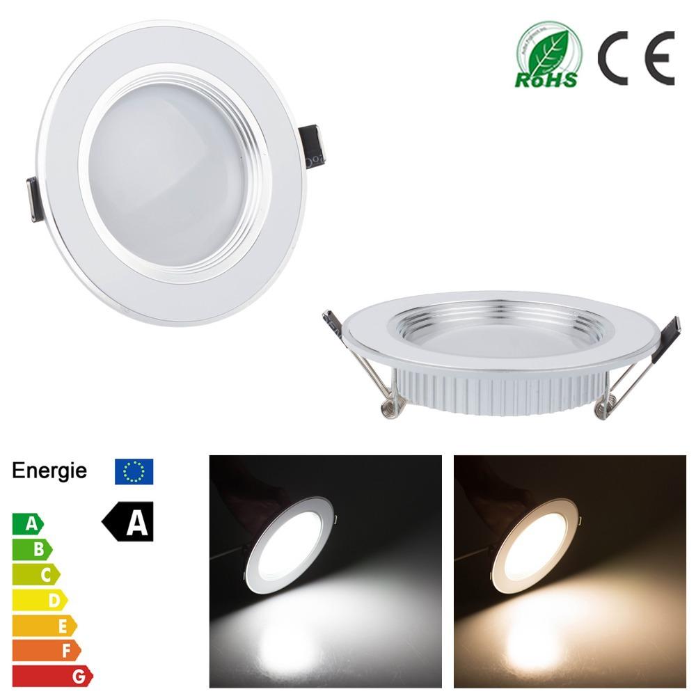 100-245V Led Downlight 3W 5W 7W 9W 12W Light Lamp Ceiling Recessed Round Panel Lampada Bombillas - Lemontop Tech Co.,Ltd store