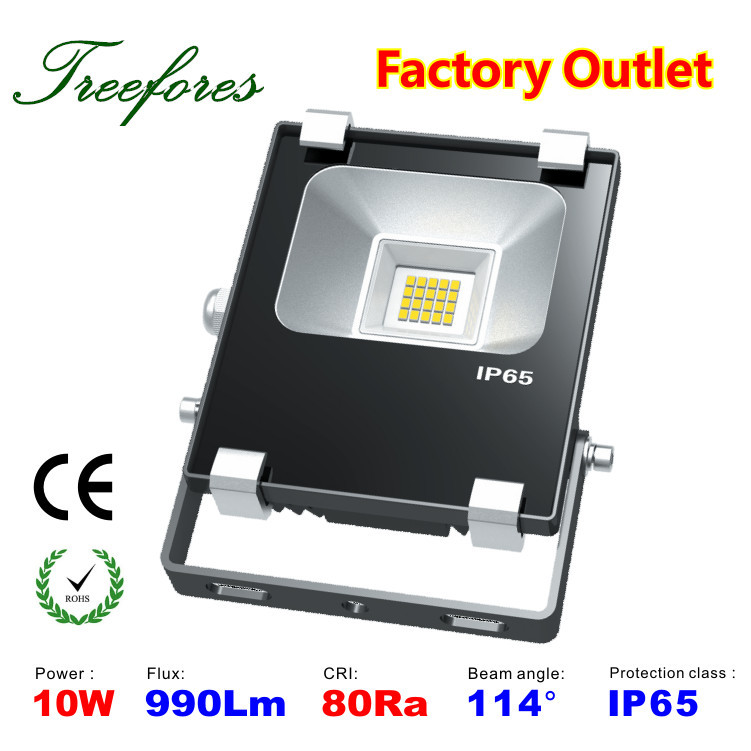CREE led flood light ip67 outdoor led flood Lamps CE RoHS Certification 10w 1000Lm High quality garden light