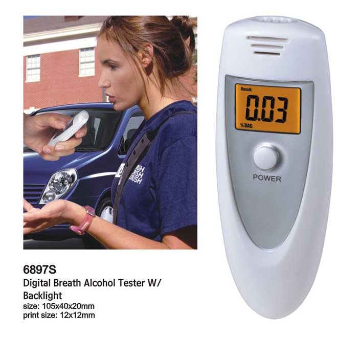 2016 New Free shipping Portable Breathalyzer Detector Digital Breath Alcohol Tester/Alcohol Tester/Alkohol Tester(China (Mainland))