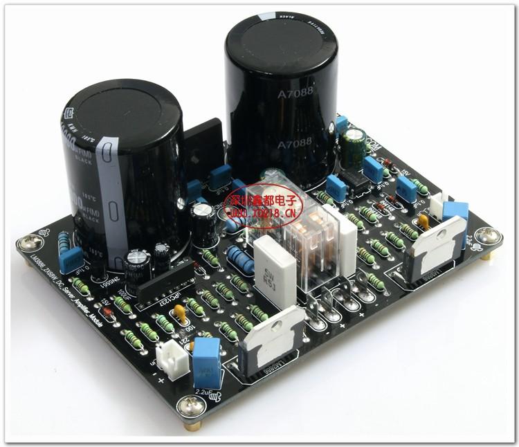 ถูก ซินDU LM3886 2*68วัตต์DC servoปัจจุบันข้อเสนอแนะแบบไดนามิกคณะกรรมการขยายอำนาจ2.0ช่องแอมป์เสียงไฮไฟคณะกรรมการเครื่องขยายเสียง