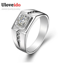 50% off Fashion 925 Sterling Silver Rings for Women / Men Jewelry 2015 Wedding Engagement Ring Anillos Wholesale Ulove J473N(China (Mainland))