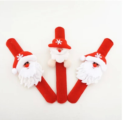 FREE SHIPPING Christmas clap circle Santa Claus and The snowman elk clap circle Adults and children Christmas Decoration(China (Mainland))