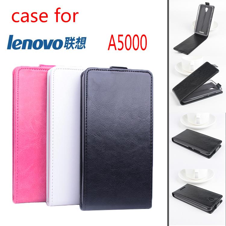Чехол для Lenovo A5000 полиуретан, a5000 роскошь кожа открытая вверх и пуховик черный белый розовый цвет аккумулятор lenovo pb200 5000