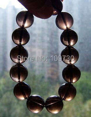 Здесь можно купить  00919 15mm NATURAL Clear SMOKY QUARTZ Bangle,Crystal Bracelet  Ювелирные изделия и часы