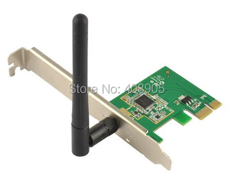 NEW 150M 150mbps 802.11n/g/b WiFi LAN WLAN Card Adapter Receiver Wireless Network for Desktop PC(China (Mainland))