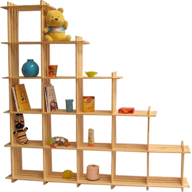 Tianyi pine home 15 ledge display rack file cabinet partition toy shelf dy15.54321(China (Mainland))