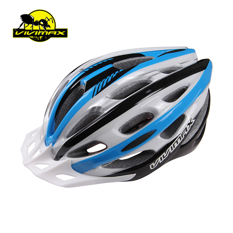 VIVIMAX 6Color Bicycle Cycling Helmet Mountain Road Bike MTB Helmet Ultralight  Helmet with Visor SIZE:55-62cm<br><br>Aliexpress