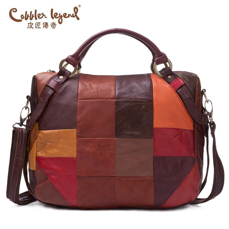 Фотография Cobbler Legend 2016 New Europe Style Handbags For Women Messenger Bags Women Crossbody Bags Famous Brand Genuine Leather 607269