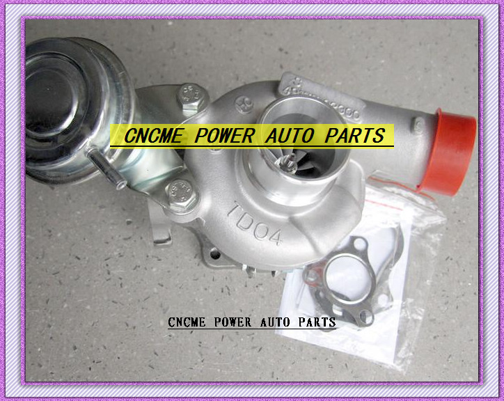 TWIN TURBO TD04 49177-02300 49177-02400 Turbocharger For MITSUBISHI GTO 3000GT Eclipse Galant 3.0L 1991-2003 6G72 166KW (5)