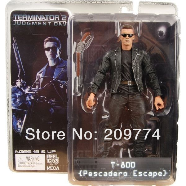 "NECA Terminator 2 T2 JUDGEMENT DAY T-800 PESCADERO ESCAPE 7"" Figure"
